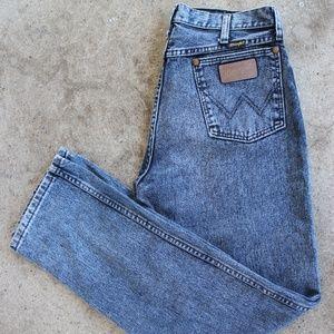 Vintage 80s 90s Acid Washed Wrangler Jeans